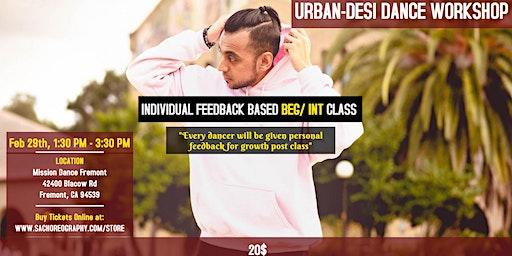 Beginner / Intermediate Urban-Desi Dance Workshop - Bollywood x Urban Dance
