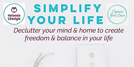 Simplify Your Life Workshop tickets