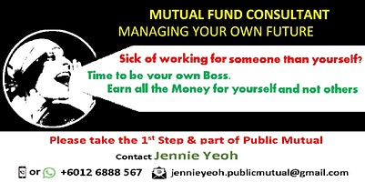 FREE Sharing on How to be in Mutual Fund business