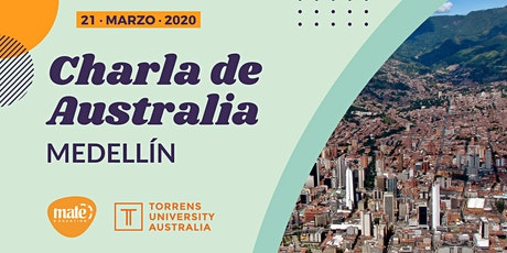 Charla de Australia | Medellín entradas