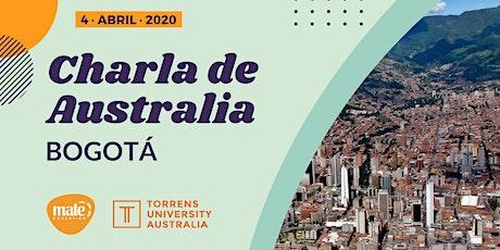 Charla de Australia | Bogotá entradas
