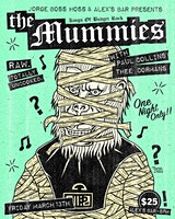 The Mummies with special guest Paul Collins (The Nerves) & Thee Cormans