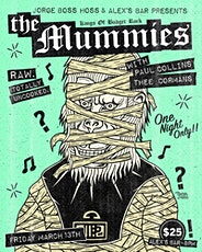 The Mummies with special guest Paul Collins (The Nerves) & Thee Cormans tickets