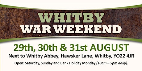 Whitby War Weekend 2020 (Buy Trading Space) tickets