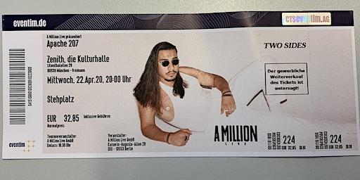Apache 207 Konzert, München, 22.04.2020, Zenith, die Kulturhalle