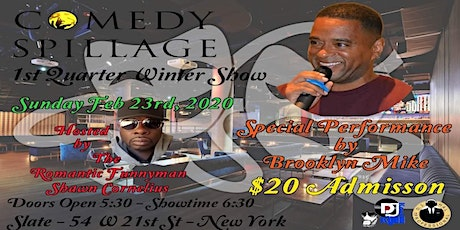 Comedy Sunday at Slate tickets