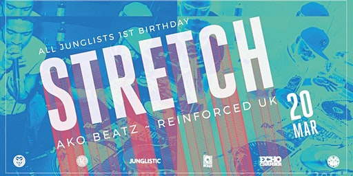 All Junglists 1st Bday ft. Stretch (uk)