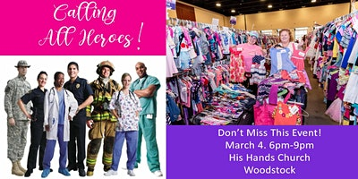 All 4 Kids Woodstock Consignment Event - Heroes Presale - all4kids.com