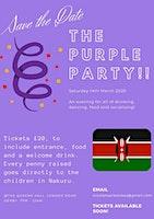 Purple Party for Rams in Kenya