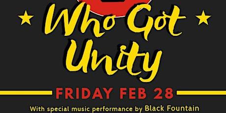 Speak Easy Series: Who Got Unity tickets