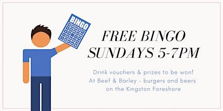 FREE Bingo - Kingston Foreshore tickets