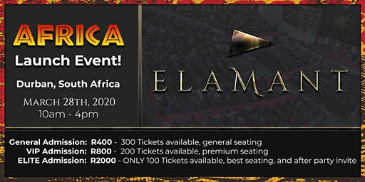 Elamant Africa Launch Event in Durban, South Africa!