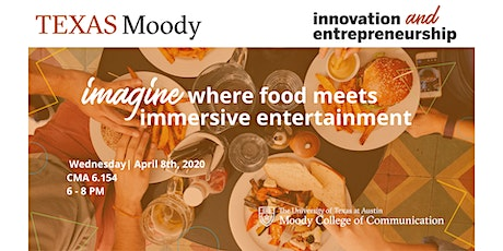 Imagine Dining Beyond Sight & Sound: Food in an Immersive Environment tickets