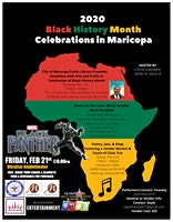 VENDORS ONLY MARICOPA'S BLACK HISTORY MONTH POETRY JAZZ & VENDOR MARKET