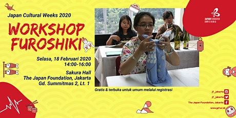 Workshop Furoshiki tickets