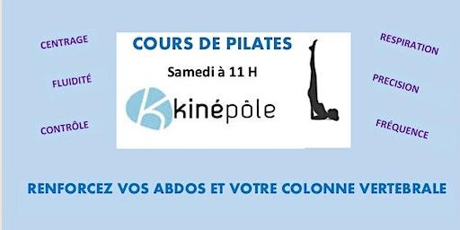 Cours de Pilates au Cabinet Kinépôle Agau