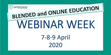 EMPOWER webinar week on Blended and Online Education tickets