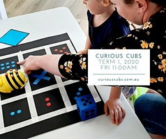 Curious Cubs for 3-5yrs: Friday 11:00am session (Term 1, 5 wks)