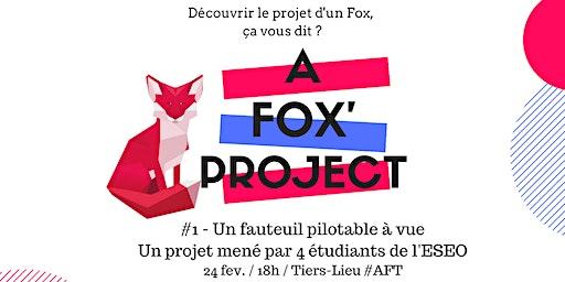 A Fox'Project #1 - Un fauteuil PMR piloté grâce... à la vue !