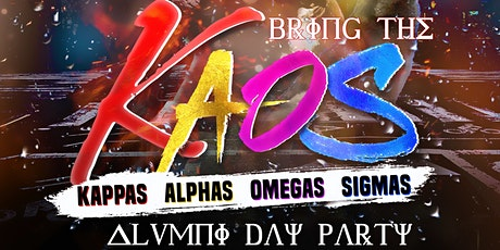 Bring The KAOS ALUMNI Day Party tickets