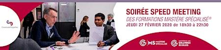 Soirée Speed Meeting Mastere CentraleSupélec