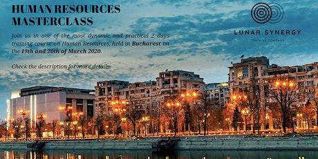 Human Resources Masterclass - Bucharest tickets