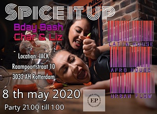 Spice it up! B-day Bash Char & Lizzy tickets