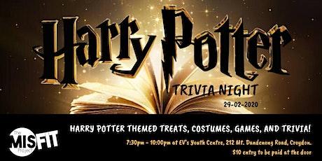 MISFIT Harry Potter Trivia Night tickets