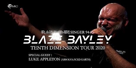 Blaze Bayley : Tenth Dimension Tour 2020 + Special Guests : Luke Appleton tickets