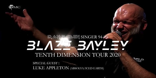 Blaze Bayley : Tenth Dimension Tour 2020 + Special Guests : Luke Appleton