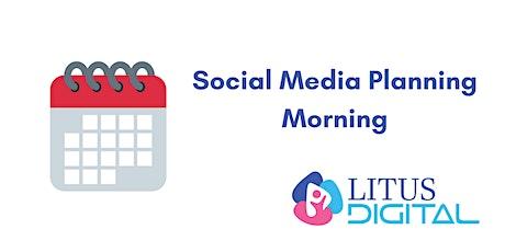Social Media Planning Morning tickets