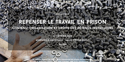 "Colloque ""Repenser le travail en prison"""