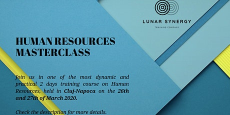 Human Resources Masterclass - Cluj Napoca tickets