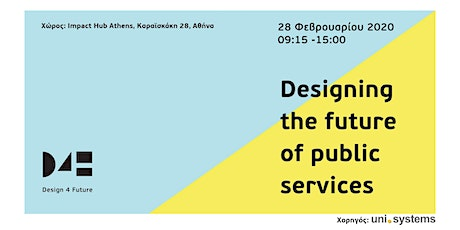 Designing the future of public services. tickets