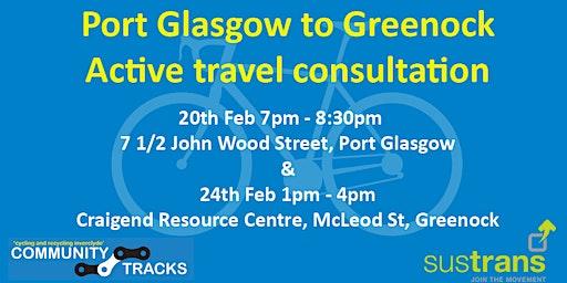 East Greenock & Port Glasgow Active Travel Consultation
