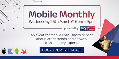 Mobile Monthly - Powered By Sky Betting & Gaming tickets