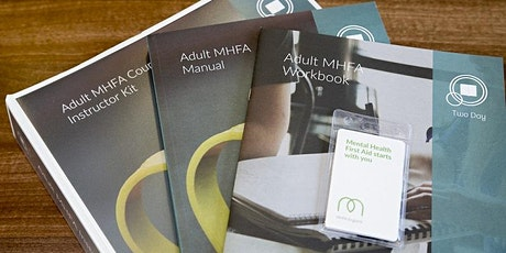 Adult Mental Health First Aid (2 day course) tickets
