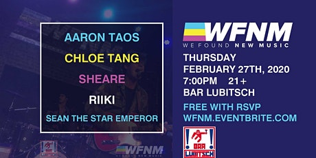 AARON TAOS / CHLOE TANG / SHEARE / SEAN THE STAR EMPEROR / RIIKI tickets