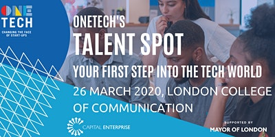 Talent Spot – Your first steps into the Tech World –  Startup Job Fair