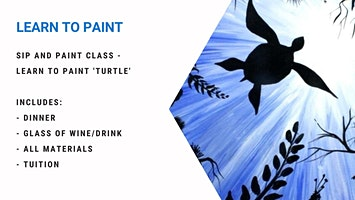 Mango Hill - Learn to paint 'Turtle'!