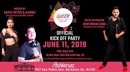 QUEER Latin Dance Fest- KICK OFF PARTY tickets