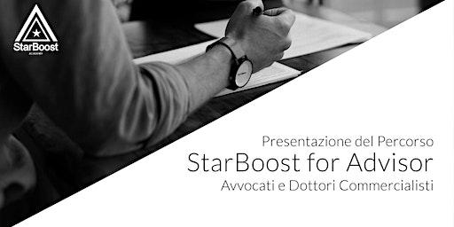 Presentazione StarBoost for Advisor Avvocati e Dottori Commercialisti