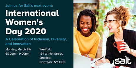 International Women's Day: Celebrating Inclusion, Diversity, and Innovation tickets