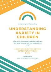 Understanding Anxiety in Children tickets