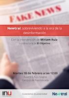 Newtral: verificación y fact-checking en la era de la desinformación