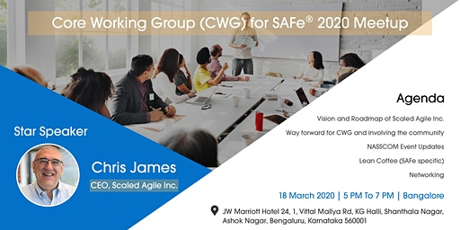Core Working Group for SAFe in India : March 2020 Meetup