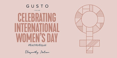 International Womens Day at Gusto tickets