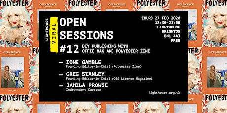 Viral Open Session: DIY Publishing with Offie Mag and Polyester Zine tickets
