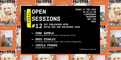 Viral Open Session: DIY Publishing with Offie Mag and Polyester Zine