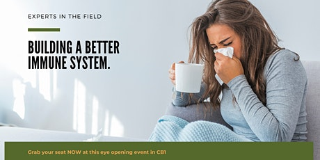Building a Better Immune System. tickets